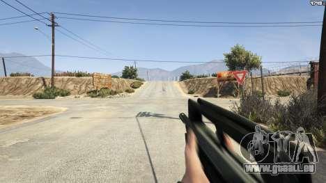 GTA 5 Famas F1 cinquième capture d'écran