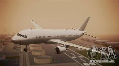 Airbus A320-200 pour GTA San Andreas