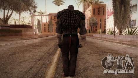 Killer Croc (Batman Arkham Origins) pour GTA San Andreas troisième écran