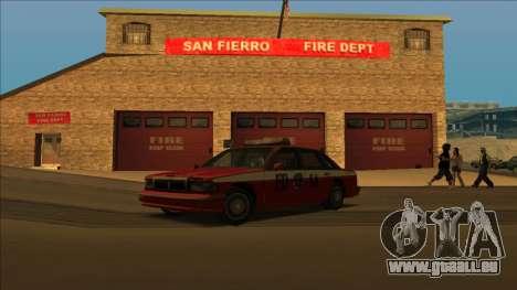 FDSA Premier Cruiser pour GTA San Andreas roue