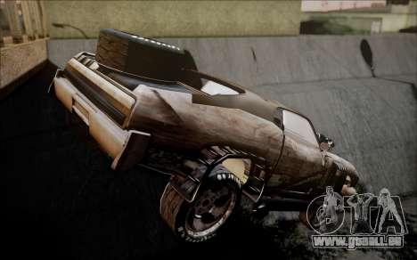 Mad Max 2 Ford Landau pour GTA San Andreas laissé vue