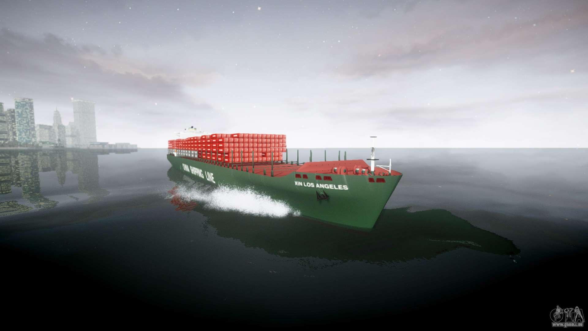 Un navire porte conteneurs pour gta 4 for Prix pour un conteneur