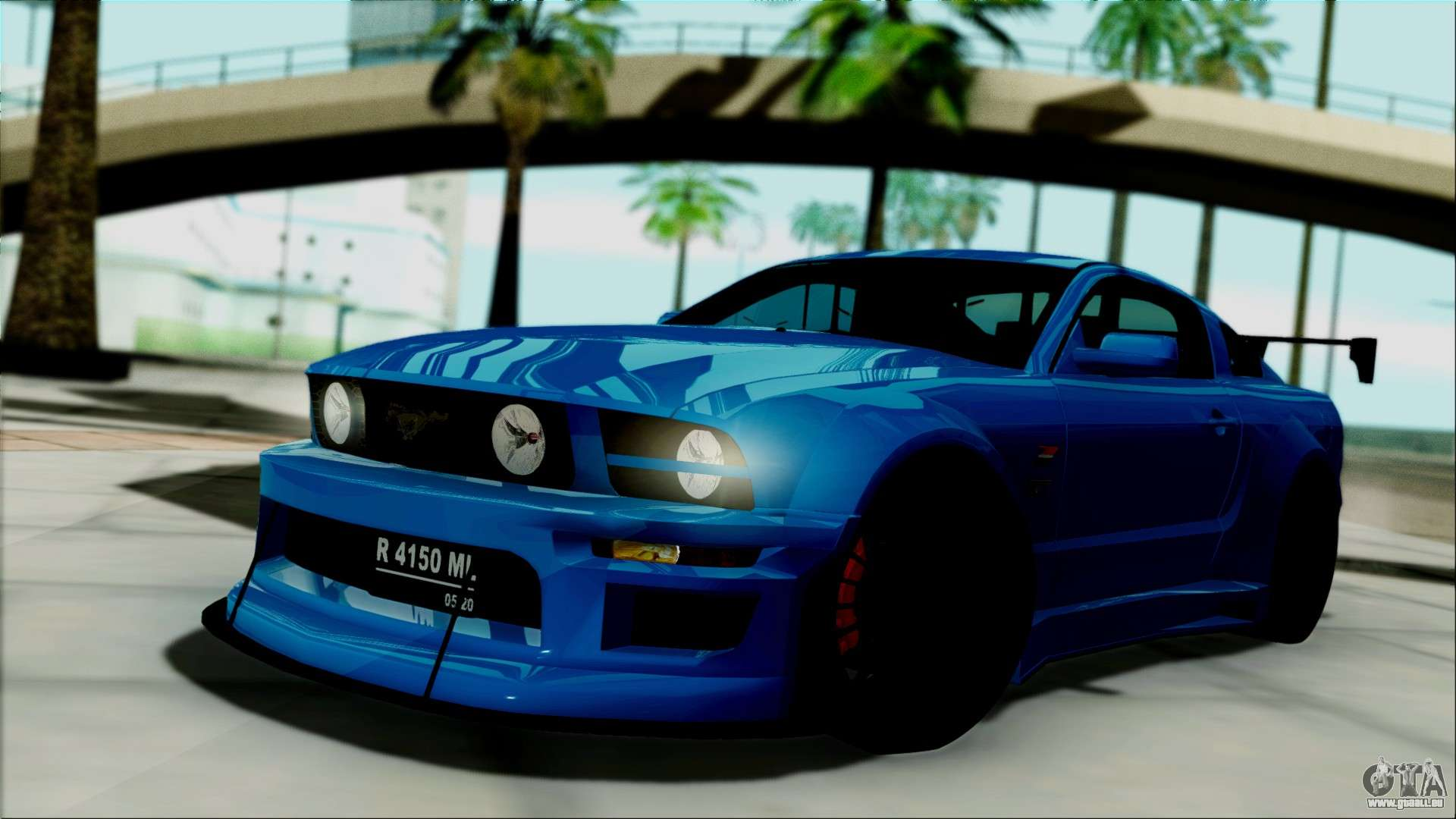 Ford mustang gt modification pour gta san andreas - Mustang modification ...