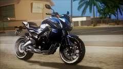 Honda CB650F Azul