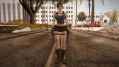 Well Armed Lara Croft für GTA San Andreas