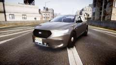 Ford Taurus 2010 Unmarked Police [ELS]