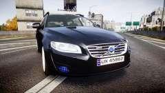 Volvo V70 2014 Unmarked Police [ELS]