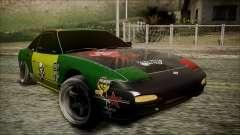 Nissan 240SX Pro Street pour GTA San Andreas