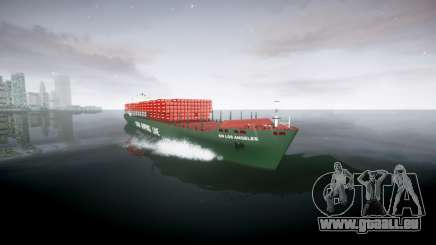 Ein container-Schiff für GTA 4
