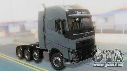 Volvo FH Euro 6 Heavy 8x4 für GTA San Andreas