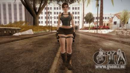 Well Armed Lara Croft pour GTA San Andreas