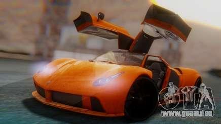 GTA 5 Pegassi Osiris SA Style pour GTA San Andreas
