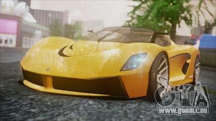 Grotti Turismo RXX-K pour GTA San Andreas