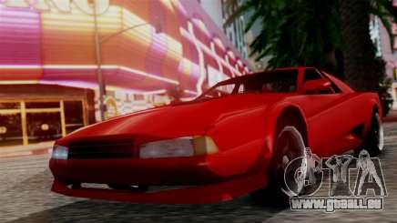 Cheetah New Edition pour GTA San Andreas