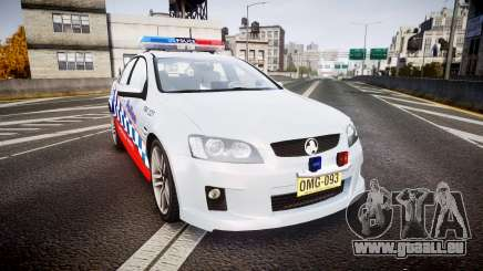Holden Commodore SS Highway Patrol [ELS] für GTA 4