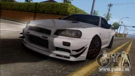 Nissan Skyline GT-R34 für GTA San Andreas