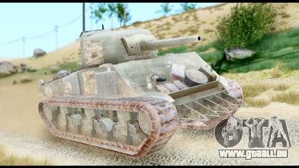 M4 Sherman 75mm Gun Urban für GTA San Andreas