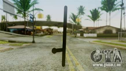 Police Baton from Silent Hill Downpour v2 für GTA San Andreas