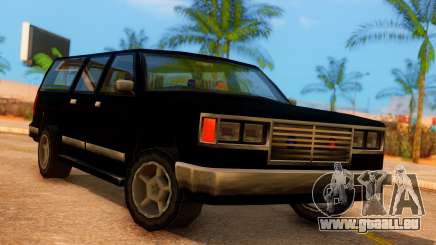 FBI 4-door Yosemite pour GTA San Andreas