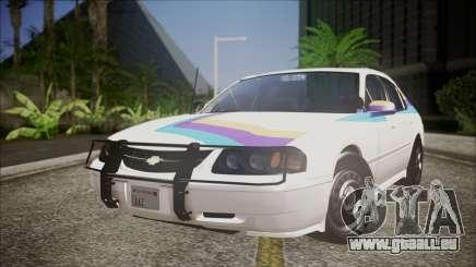 Chevrolet Impala FBI Slicktop pour GTA San Andreas
