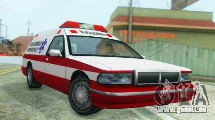 Premier Ambulance pour GTA San Andreas