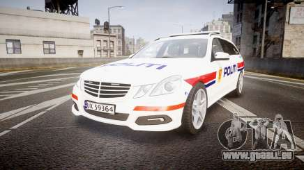 Mercedes-Benz E63 AMG Estate 2012 Police [ELS] für GTA 4