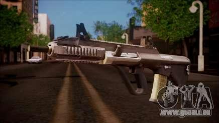 AUG A3 from Battlefield Hardline für GTA San Andreas