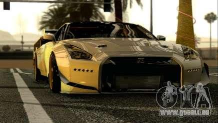 Nissan GTR-R35 Rocket Bunny für GTA San Andreas