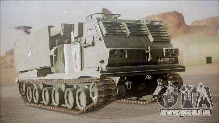 Hellenic Army M270 MLRS für GTA San Andreas