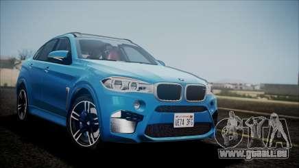 BMW X6M 2015 pour GTA San Andreas