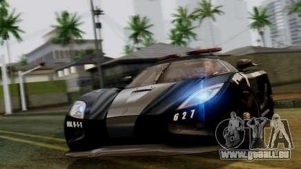 NFS Rivals Koenigsegg Agera R Enforcer pour GTA San Andreas
