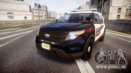 Ford Explorer 2011 Elizabeth Police [ELS] für GTA 4
