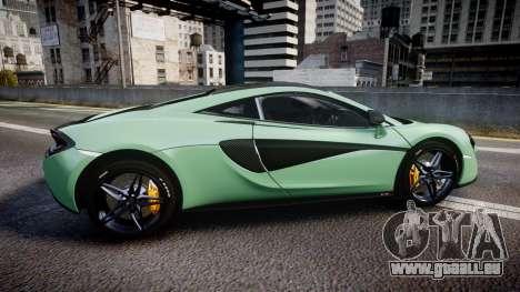 McLaren 570S 2015 rims2 für GTA 4 linke Ansicht