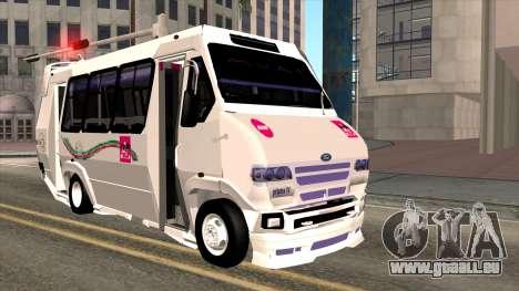 Ford Prisma IV Microbus für GTA San Andreas