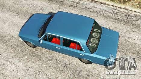 GTA 5 Tofas Serce [Beta] vue arrière