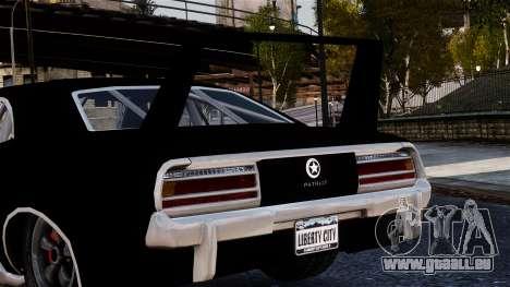 Patriot Vegas G20 Firebomb pour GTA 4 est un droit