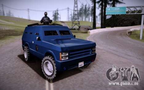 La Voiture Blindée. pour GTA San Andreas