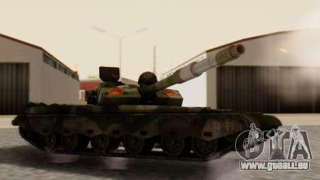 Type 99 pour GTA San Andreas laissé vue