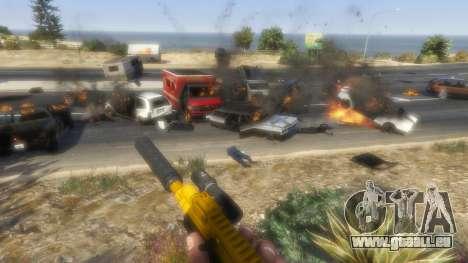 GTA 5 Le soulèvement des citoyens Chaos (Mode) 0.6.1 septième capture d'écran