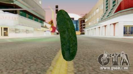 Concombre pour GTA San Andreas