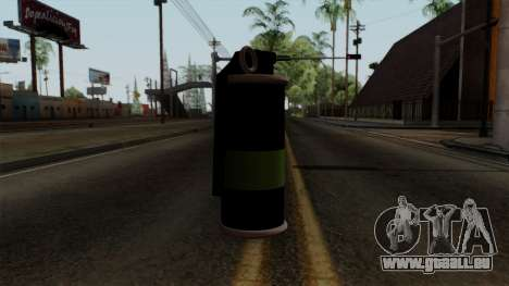 Original HD Tear Gas für GTA San Andreas zweiten Screenshot