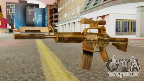CAR-15 SA Style für GTA San Andreas