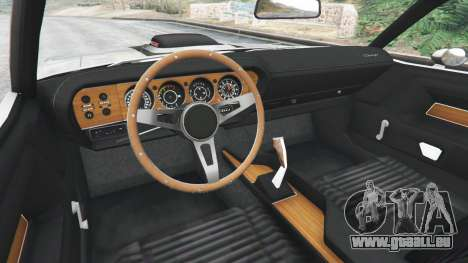 GTA 5 Dodge Challenger RT 440 1970 v0.8 [Beta] arrière droit vue de côté