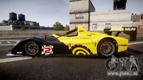 Radical SR8 RX 2011 [2] für GTA 4 linke Ansicht