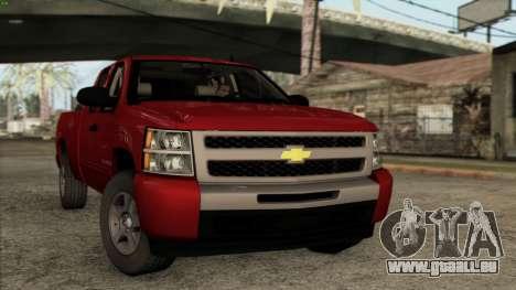 Chevrolet Silverado 1500 LT 2010 pour GTA San Andreas