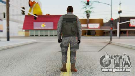 [GTA5] BlackOps1 Army Skin pour GTA San Andreas troisième écran