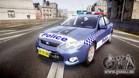 Ford Falcon FG XR6 Turbo NSW Police [ELS] für GTA 4
