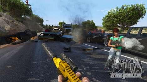 GTA 5 Le soulèvement des citoyens Chaos (Mode) 0.6.1 quatrième capture d'écran