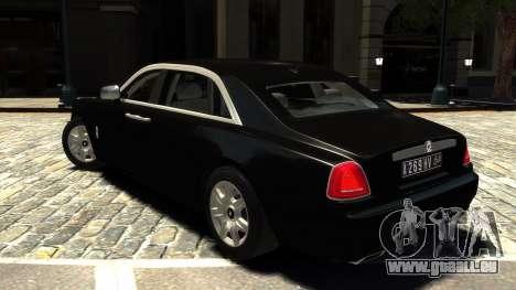 Rolls-Royce Ghost 2013 v1.0 pour GTA 4 Vue arrière de la gauche