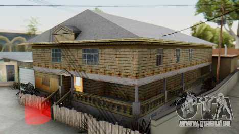 New CJs House pour GTA San Andreas